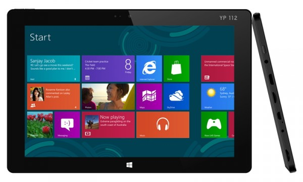 Yashi TabletBook Note X2: nuovo tablet Windows 8.1 a 349 euro