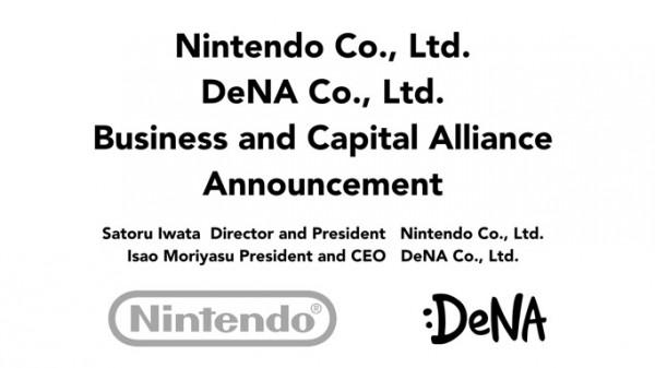 Nintendo e DeNa insieme per i giochi su smartphone e tablet