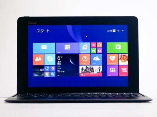 ASUS Transformer Book T100 Chi: recensione tablet ibrido Windows 8.1