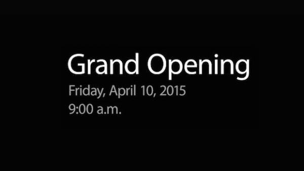 Apple Watch: dal 10 Aprile nuovi Apple Store a Parigi, Londra e Tokyo