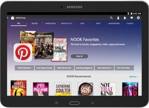Samsung Galaxy Tab Nook 10.1: prezzo negli USA 299 dollari