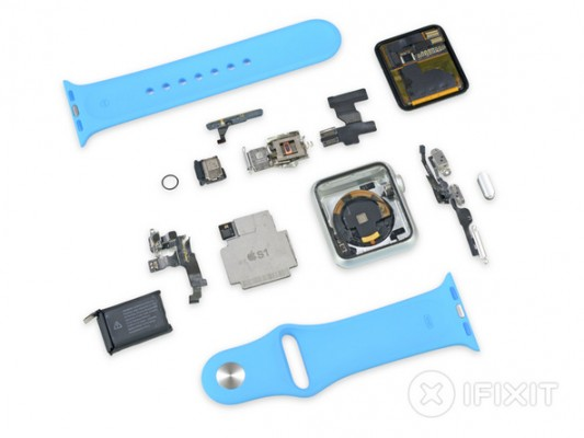 iFixit svela l'hardware interno dell'Apple Watch