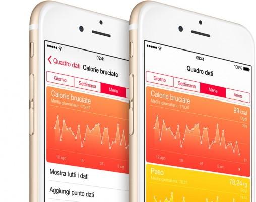 iOS 8: creare una cartella clinica dell'app Salute