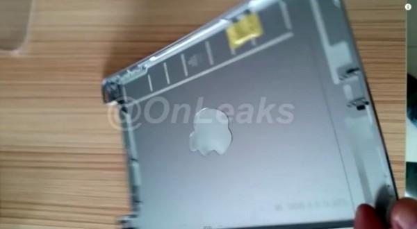 iPad Mini 4: immagini e video della scocca posteriore