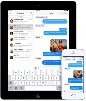 iOS 8: avere più memoria cancellando la Cronologia Messaggi