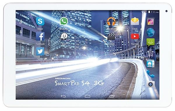 Mediacom SmartPad 10.1 S4: tablet da 180 euro che anche telefona