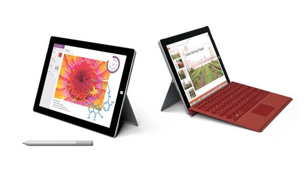 Microsoft Surface 3 in vendita in Italia al prezzo di 609 euro