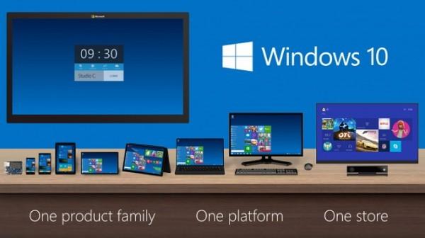 Microsoft svela tutte le edizioni di Windows 10
