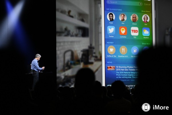 Apple iOS 9: molta più memoria disponibile per iPhone e iPad