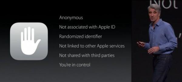 Apple iOS 9: maggiore privacy per gli utenti