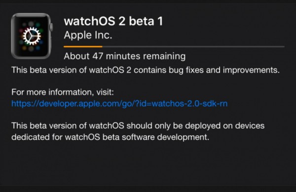 Apple Watch: come installare la Beta di watchOS 2