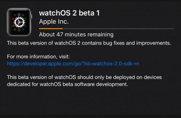 Apple Watch: come installare la Beta di watchOS 2