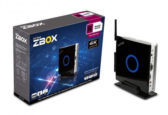 Zotac ZBOX: nuovo mini PC con supporto RAID per 2 hard disk