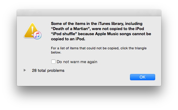 iPod Nano e iPod Shuffle 2015: come sincronizzare i brani Apple Music