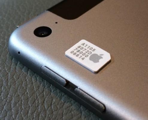 L'Apple SIM dell'iPad Air 2 arriva anche in Italia