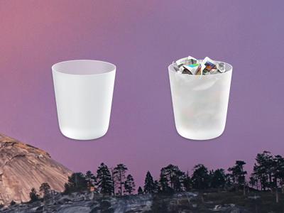 OS X Yosemite: come cancellare i file in maniera definitiva