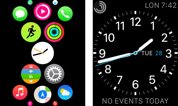 Apple Watch: come organizzare al meglio l'interfaccia