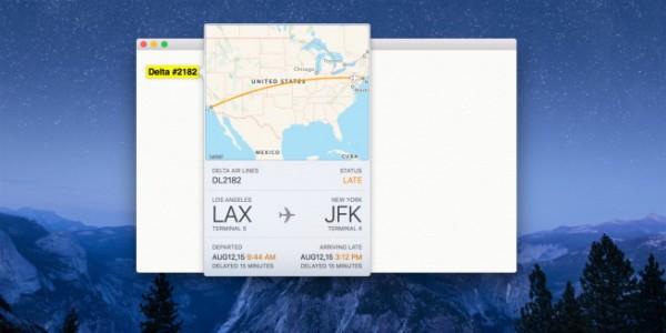 Apple iOS 9 e OS X El Capitan: come controllare lo stato di un volo