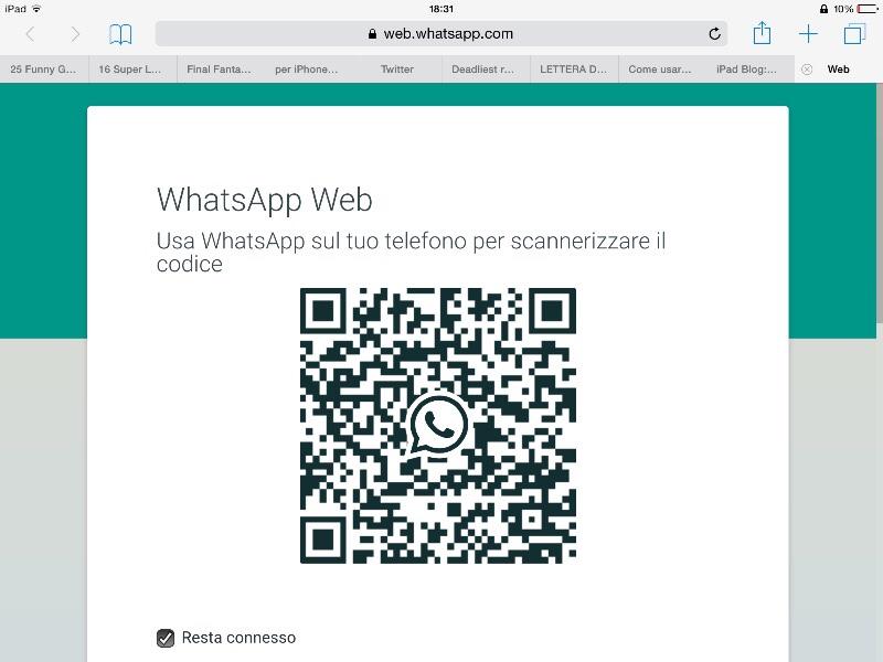 Come accedere a WhatsApp senza telefono | Salvatore Aranzulla