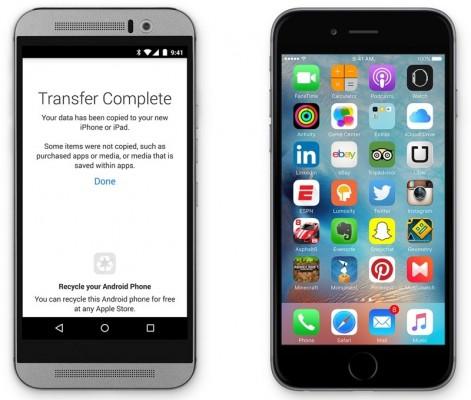 L'app Move to iOS non piace agli utenti Android