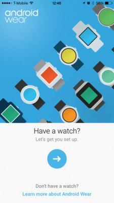 Android Wear: guida al pairing con l'iPhone