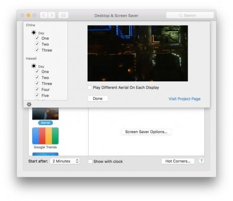 Apple TV 2015: come installare in OS X i nuovi screensaver