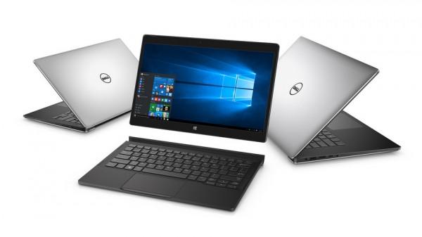 Dell XPS 12: nuovo tablet ibrido Windows 10 con display 4K
