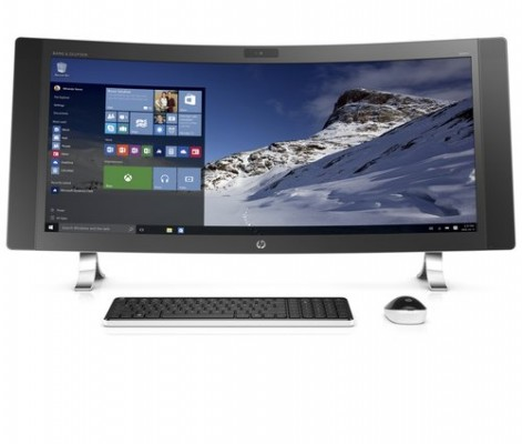 HP Envy Curved: nuovo computer all-in-ine da 34 pollici