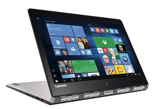 Lenovo Yoga 900: tablet convertibile da 13 pollici con Windows 10
