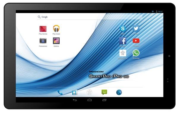 Mediacom SmartPad 10.1 HD arriva in Italia al prezzo di 210 euro