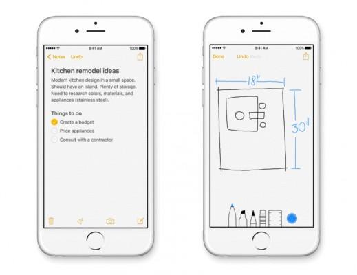 Apple iOS 9: come usare la nuova app Note
