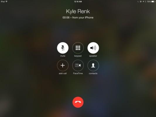 iPad con iOS 9: come disattivare le chiamate da iPhone
