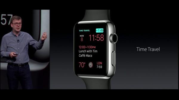 Apple Watch: come usare la funzione Time Travel