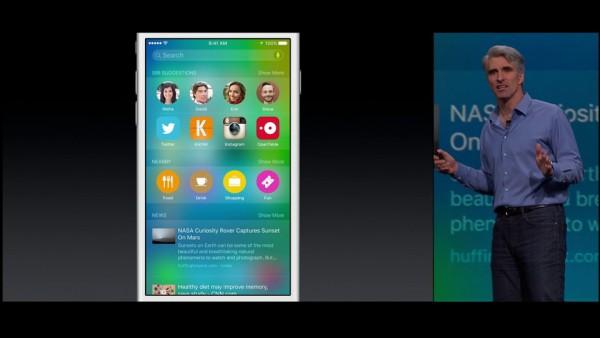 Apple iOS 9: guida su suggerimenti proattivi, Siri e Ricerca