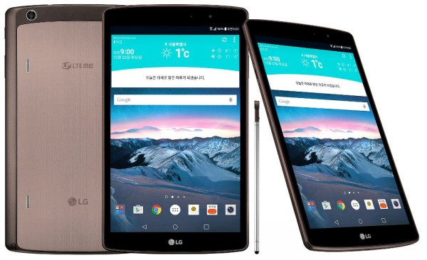 LG G Pad 2 8.3 LTE: nuovo tablet Android da 8.3 pollici
