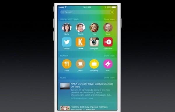 Apple iOS 9: Spotlight risolve i problemi matematici