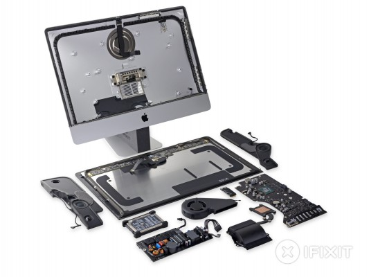 Apple iMac Retina 4K è facile da riparare?