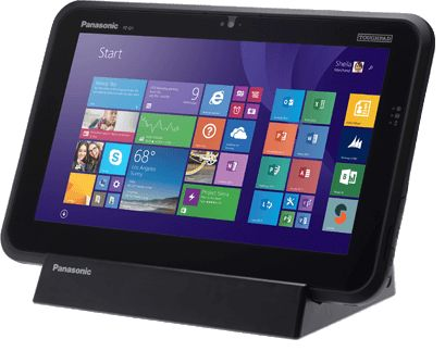 Panasonic ToughPad FZ-Q1: nuovo tablet Windows a prova di tutto