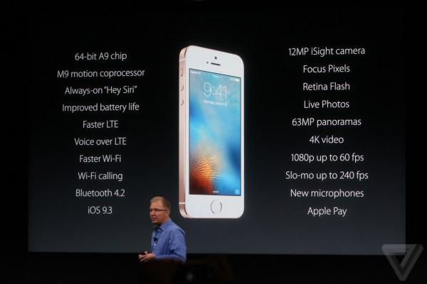 Apple keynote del 21 Marzo: arriva l'Phone SE da 4 pollici