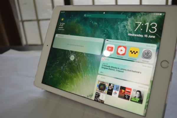 Come rimuovere tutti i widget dalla schermata di blocco di iOS 10 su iPad