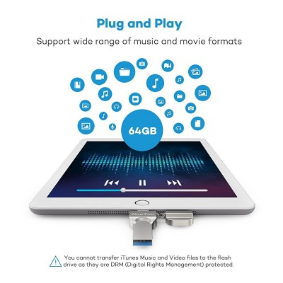 iPad troppo piccolo? La chiavetta USB Lightning HooToo ti consente di aumentare lo spazio disponibile!