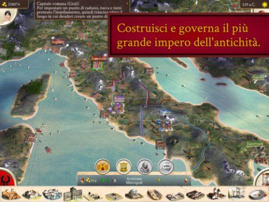 Rome: Total War arriva su iPad, e gli amanti della strategia gioiscono!