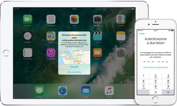 Come attivare l'autenticazione a due fattori su iPad