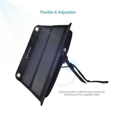 Il caricabatterie a con pannello solare Dodocool ricarica il tuo iPad anche senza corrente elettrica!