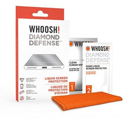 Woosh! Diamond defense è la pellicola innovativa che protegge il tuo iPad dai graffi!