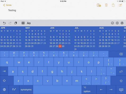 ProKeyboard per iPad è la miglior tastiera per l'utilizo professionale del tablet!