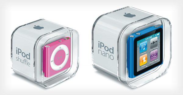 La fine di iPod si avvicina: via iPod Nano e iPod Shuffle dallo store online