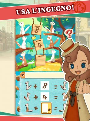 Layton's Mistery Journey, un VERO Layton su iPad con una qualità incredibile!