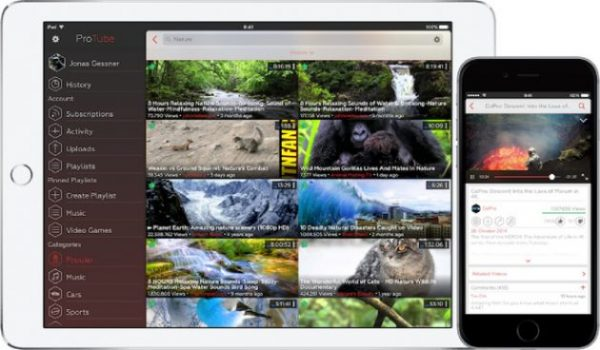 YouTube solo con l'app ufficiale su iPad: Apple elimina ProTube da App Store!