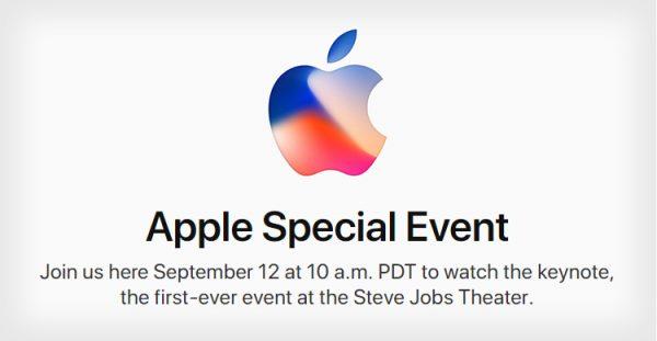 Ufficiale: iPhone 8 verrà presentato il 12 Settembre